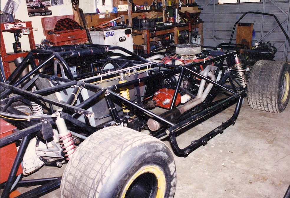 Here S Another Unusual Dirt Late Model We Built Back In